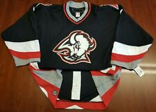 Buffalo Sabres Reebok 6100 Team Issue Jersey Goat Head Vector