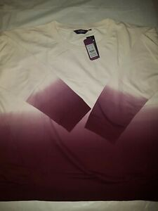 NEW LOOK LADIES OMBRE LONG SLEEVE TOP various sizes uk 18 / 22 / 24 / 26