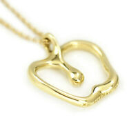 TIFFANY&Co Apple Necklace Peretti 18k Yellow Gold Pendant