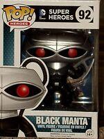 Pop! Heroes DC Comics Funko AQUAMAN BLACK MANTA Pop! Vinyl Figure #92 * MINT