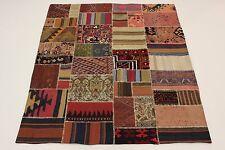 nomades Kelim patchwork très bien look antique PERSAN TAPIS tapis d'Orient
