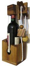 Flaschen Tresor Flaschenpuzzle Flaschen Safe Holz Puzzle Denkspiel Knobelspiel