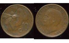 ITALY  ITALIE  10 centesimi  1921    ( aus )