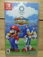 Mario & Sonic at the Olympic Games Tokyo Video Game Complete NIB Factory Sealed
