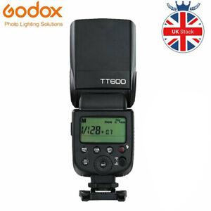 Godox TT600 2.4G Wireless GN60 Master/Slave Flash Speedlite For DSLR Cameras