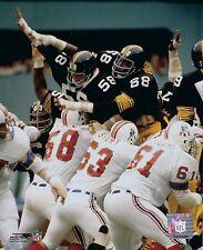 THE STEEL CURTAIN 8X10 PHOTO PITTSBURGH STEELERS NFL FOOTBALL