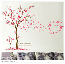 Tree Plum Blossom Room Home Decor Removable Wall Stickers Decals Decorations
