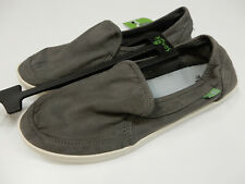 Sanuk Womens Pair O Dice Charcoal Grey Size 7