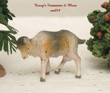 "Fontanini Depose Italy 4""Series 2""L Wht Standing Goat Nativity Animal Figure New"