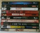 Horror DVD Lot of 10 OUIJA RESURRECTION, INSIDIOUS CHAPTER 3, THE LAST EXORCISM2
