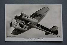 R&L Postcard: Valentine, Junkers JU 88K JU88 Dive Bomber