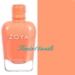 ZOYA ZP897 SAWYER taffy orange cream nail polish ~ WANDERLUST Collection NEW '17