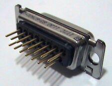 24 each ITT Cannon 83-67401-1 Sub-D Connector DSUB 15 F PCB STR G50 F225