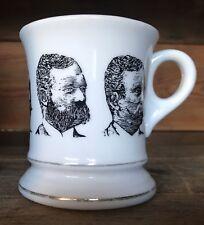 Vintage Teddy Roosevelt Shaving Mug Cup Faces of President Theodore Roosevelt