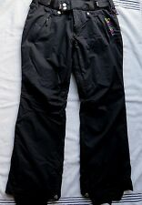 Sessions RECCO  Ski Snowboard Pants Black Women's SIZE S/M ( B#3)
