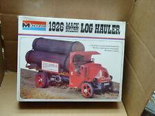 VINTAGE MONOGRAM PLASTIC MODEL KIT 1926 MACK LOG HAULER TRUCK 1/24  SEALED #2401