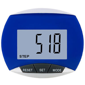 Step Pedometer With Belt Clip - LCD Display Walking Step Counter Exercise Sport