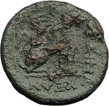 Lysimacheia in Thrace 309BC Ancient Greek Coin LION APOLLO Healer God  i31858