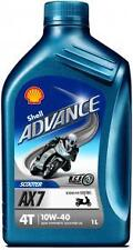 Shell Advance AX7 4T 10W-40 Motorcycle Oil 1ltr