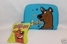 NEW IN PACKAGE 2003 CARTOON NETWORK SCOOBY DOO COIN BAG BLUE STARS WALLET