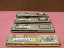 Samsung 16GB Kit 4x4GB 2Rx4 PC2-5300G-55-11-E0 DDR2 Server Memory HP 398708-061