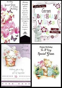 Special GRAN ~ QUALITY ~ BIRTHDAY CARD ~ CHOICE OF DESIGNS