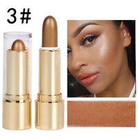 Makeup Shimmer Highlight & Contour Stick Face Body Concealer Powder Cream Beauty