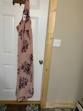 $128.90 TORRID Chiffon Maxi Dress Size 16 Purple One Shoulder