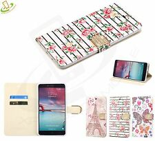 ZTE Zmax Pro Kirk Imperial Max Blade X Max BLING Leather Flip Wallet Case Cover