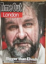 Peter Jackson - Time Out magazine - 9 December 2014