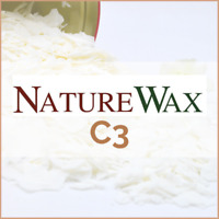 NatureWax C3 100% Soy Wax Flakes Pure Container Candle Eco Soya Natural