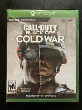 Call of Duty Black Ops Cold War Xbox One series x  factory sealed