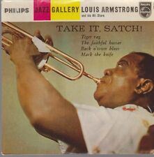 "7"" EP Louis Armstrong take it Satch (Tiger Rag, Mack the Knife) PHILIPS"