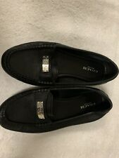 Coach Fredrica Loafers Shoes Pebbled Leather Sz 6 Gorgeous Flats Fantastic