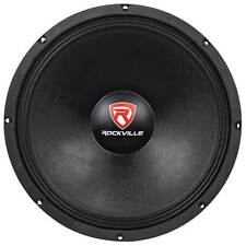 "Rockville RVW1500P8 1500 Watt 15"" Mid-Bass Driver Car Audio Speaker Mid-Range"