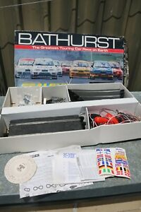 SCALEXTRIC BATHURST  TOURING CAR SLOT CAR RACING SET - Incomplete