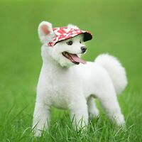 Pet Dog Hat Baseball Cap Sports Windproof Travel Sun Hats for Puppy Small Dogs