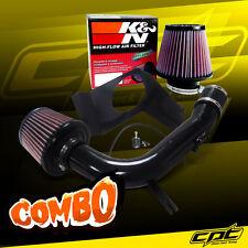 08-14 Impreza WRX/STI 2.5L 4cyl Black Cold Air Intake + K&N Air Filter