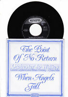 "7""- Orchester Jo Willies - The Point of No Return -----"