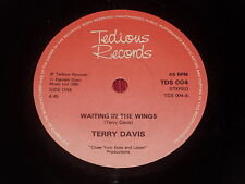 """Terry Davis:  Waiting in the wings    7""""  New ex shop stock"""