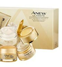 Avon Anew Ultimate Multi-Performance Skincare Set 14 Day Cleanser+ Day+Night+Eye