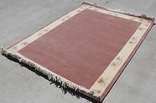 R10443 Superb Hand Knotted Woolen Tibetan Area Rug  4.6' X 6.7' Made in Nepal