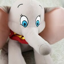 "Disney Authentic Dumbo Elephant BIG Plush 14"" Soft Stuffed Animal Toy Disneyland"