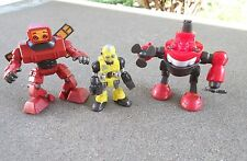 3 RARE Imaginext Space Robots action figures boys toys kids play set men pretend