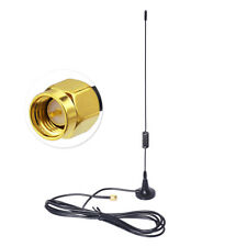 Two Way Ham Handheld Radio 5m Cable Magnetic Base Antenna for Yaesu VX-6R FT-60R