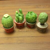 Dollhouse Miniature Living Room Garden Handmade Flowers Height 6cm Fl47-3