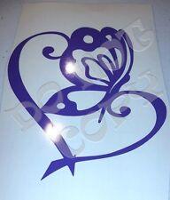 Butterfly Heart Vinyl Decal for car, locker, laptop, etc