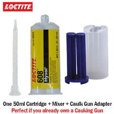 Loctite EA-Hysol 608 Clear 5-Min General Purpose Epoxy-50ml+Caulk Gun Adapter