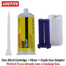 Loctite Ea Hysol 608 Clear 5 Min General Purpose Epoxy 50mlcaulk Gun Adapter