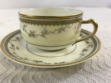 HAVILAND & CO LIMOGES  TEA CUP & Plate  CIRCA 1900 G8